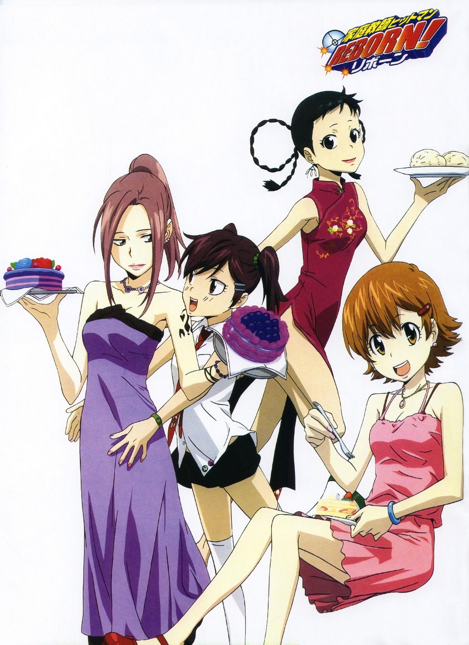 Top 10 Reborn Characters Khr Girls Katekyo Hitman Reborn